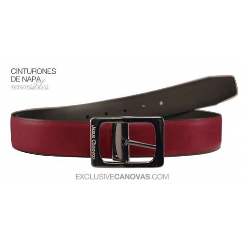 Bordeaux Reversible belt