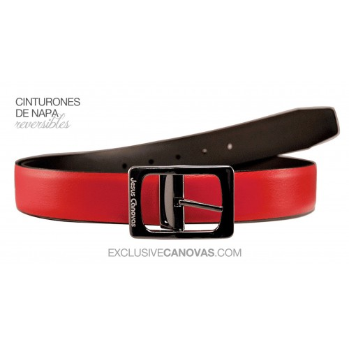 Red Reversible belt