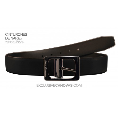 Black Reversible belt